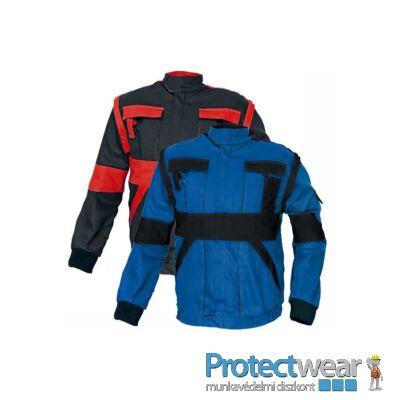 MAX kabát 260 g/m2 kék/fekete 44