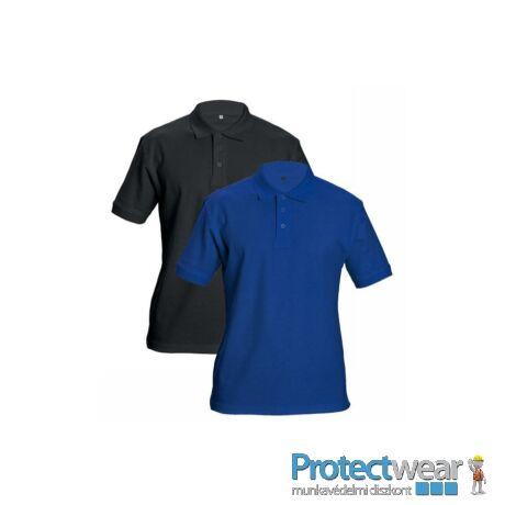 DHANU tenisz póló royal kék S