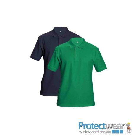 DHANU tenisz póló zöld S