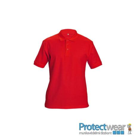 DHANU tenisz póló piros S