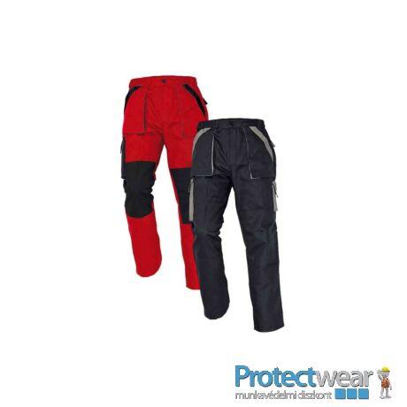 MAX nadrág 260 g/m2 piros/fekete 44