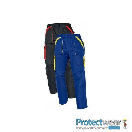 MAX nadrág 260 g/m2 kék/sárga 46