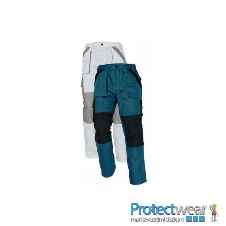 MAX nadrág 260 g/m2 zöld/fekete 50P, Hosszított fazon