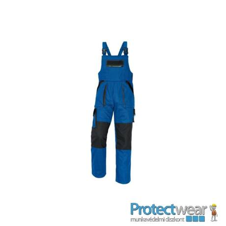 MAX kertésznadrág 260g kék/fekete 50P, Hosszított fazon