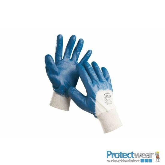 HARRIER kék mártott nitril kesztyű - 7