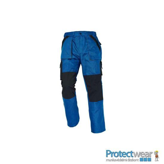 MAX nadrág 260 g/m2 kék/fekete 50P, Hosszított fazon