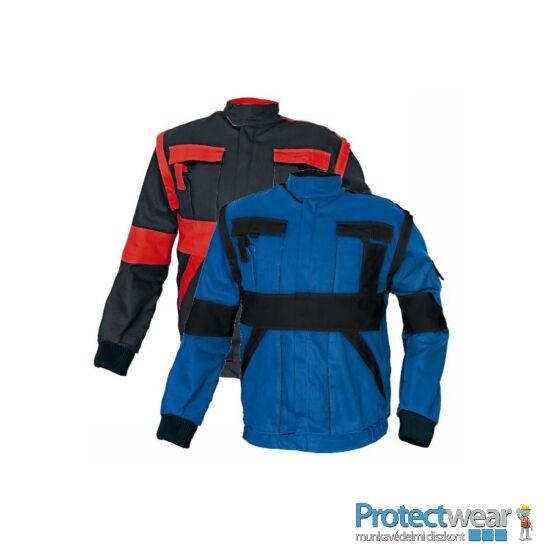 MAX kabát 260 g/m2 fekete/piros 44