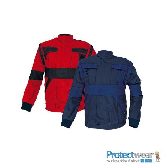 MAX kabát 260 g/m2 piros/fekete 44