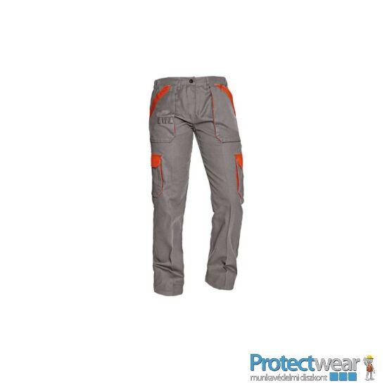 MAX nadrág 260 g/m2 sötétszürke/narancssárga 44