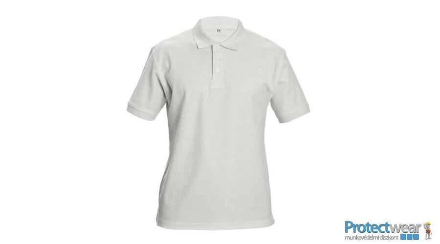 DHANU tenisz póló fehér S - Ingek 9ca6022218