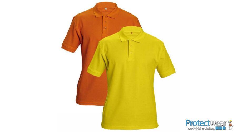 DHANU tenisz póló sárga S - Ingek ce778ab31b