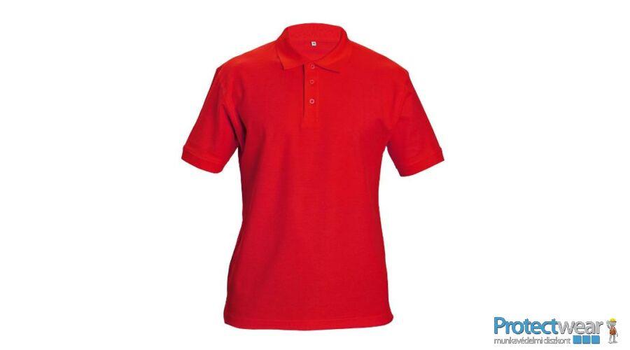 DHANU tenisz póló piros S - Ingek 6d6f2e5b41